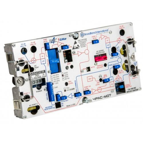 Broadband International® Mini Bridger Amplifier, 4PAC-MOT for ARRIS®/Motorola®/GI®