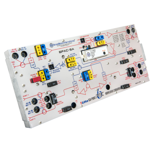 Broadband International® System Amplifier 6-PAC-S for Scientific Atlanta®