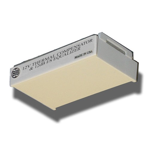 Broadband International® Thermal Compensator 750 MHz, I/S Equalizer 12V