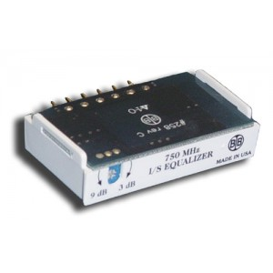 Broadband International® Interstage Equalizer 750 MHz, Variable
