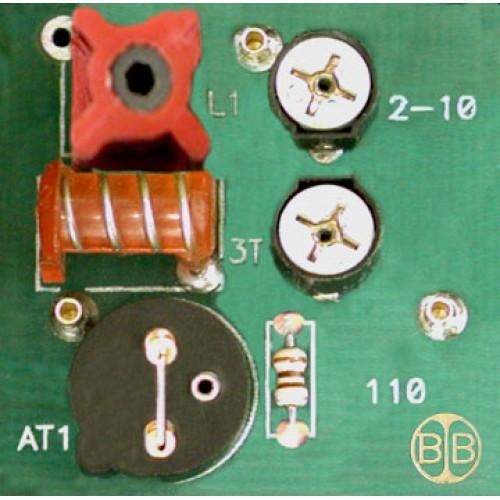 Broadband International® Interstage Equalizer 450-550 MHz, w/Pad Socket, Low Dual Peak