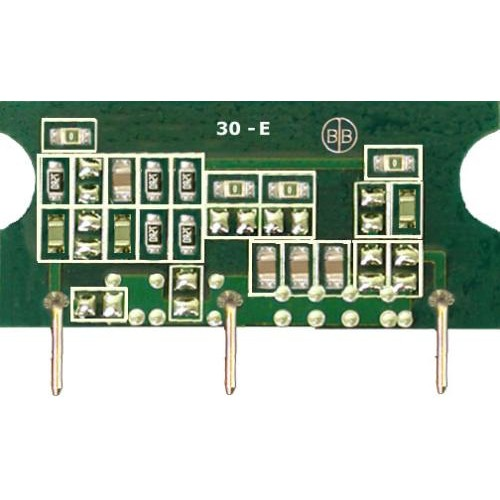 Broadband International® Reverse Equalizer, 30 MHz, SEE-E