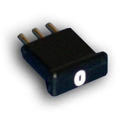 Broadband International® Attenuator Pad 1.2 GHz JXP, Short