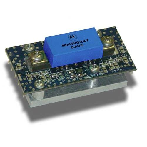 Broadband International® Hybrid GaAs Gain Block, 550 MHz