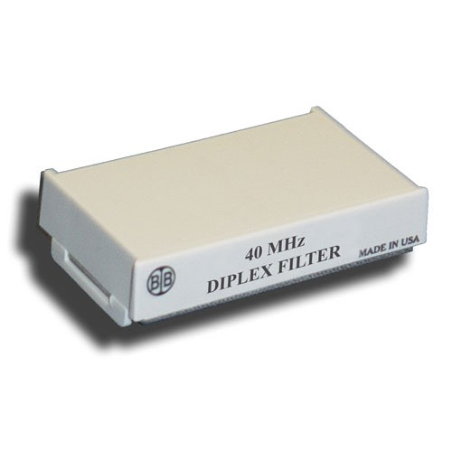 Broadband International® Diplex Filter, 40 MHz