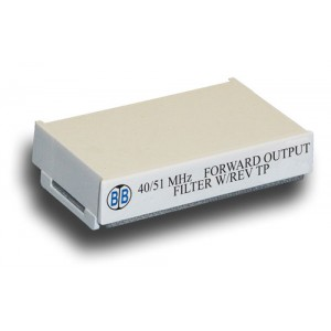 Broadband International® Filter, 750 MHz, Reverse