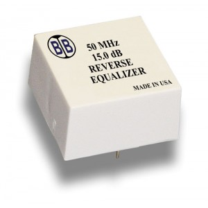 Broadband International® Reverse Equalizer, 50 MHz, T-Series