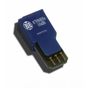 Broadband International® Attenuator Pad, 870 MHz, MPD