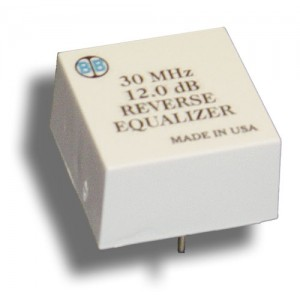 Broadband International® Reverse Equalizer, 30 MHz, T-Series