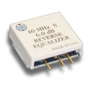 Broadband International® Reverse Equalizer, 40 MHz, S-Series