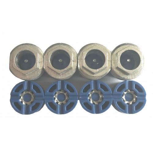 Seizure Kit, for System Amplifiers, 15 Amp, Blue
