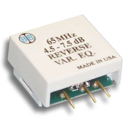 Broadband International® Reverse Equalizer, 65 MHz, Variable