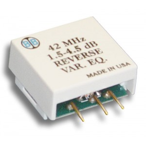 Broadband International® Reverse Equalizer, 40 MHz, Variable