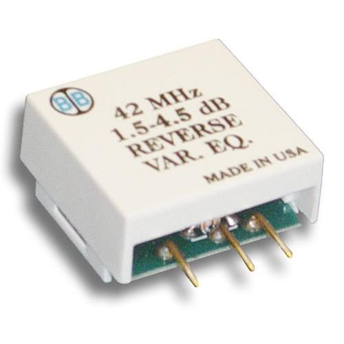 Broadband International® Reverse Equalizer, 40 MHz, Variable