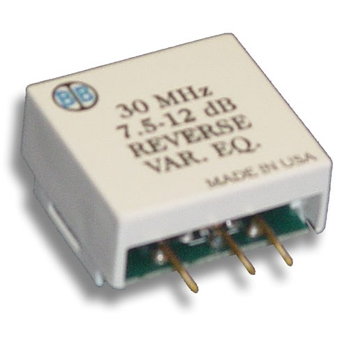 Broadband International® Reverse Equalizer, 30 MHz, Variable