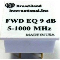 Broadband International® Forward Equalizer for 1 GHz Taps