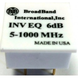 Broadband International® Inverse Equalizer for 1 GHz Taps