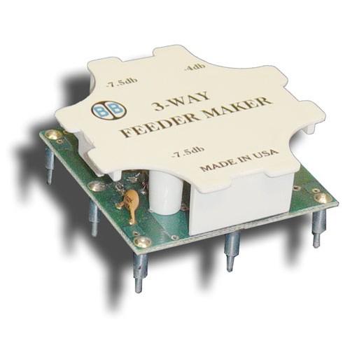 Broadband International® FeederMaker, 3-Way