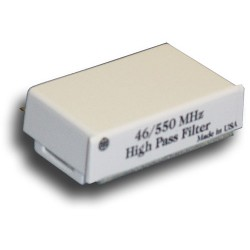 Broadband International® Filter 550 MHz, High Pass