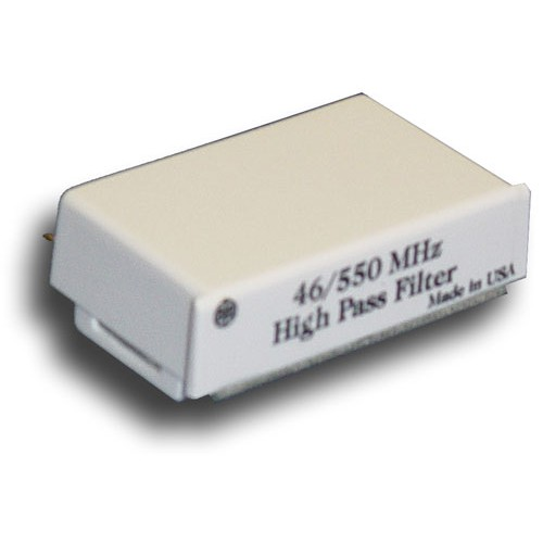 Broadband International® Filter, 550 MHz, High Pass