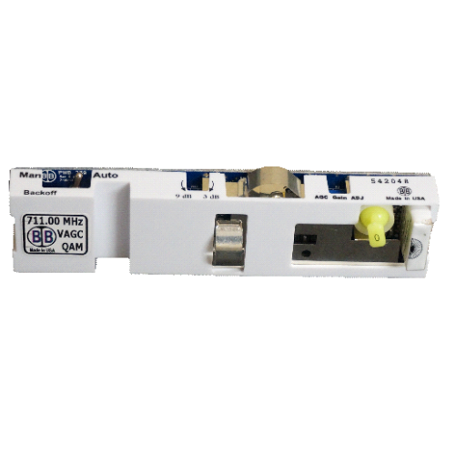 Broadband International® Automatic Gain Control (AGC)